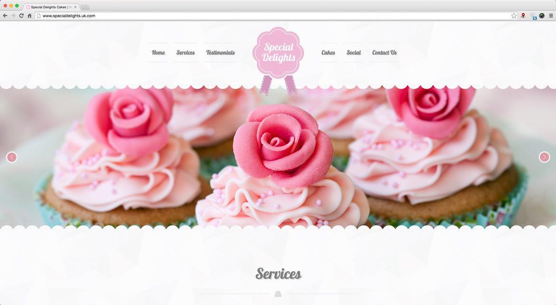 Cake Store Web Design