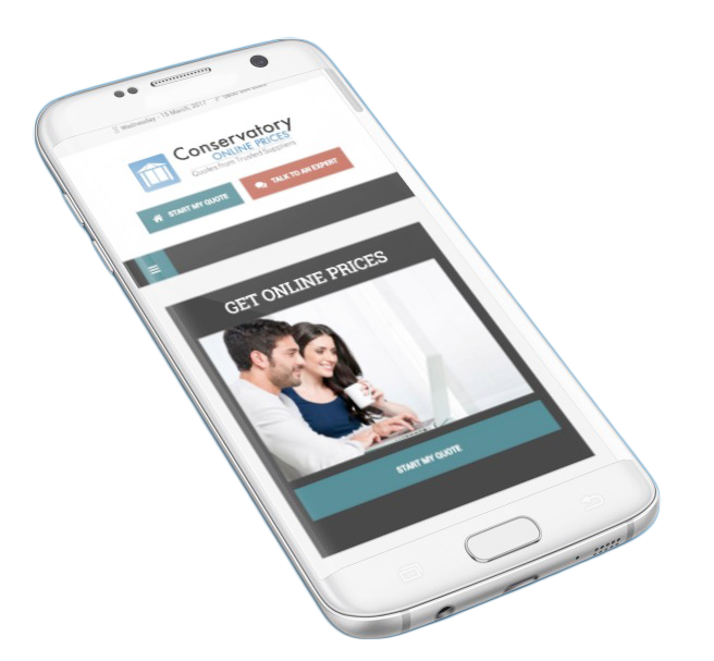 conservatory online prices mobile