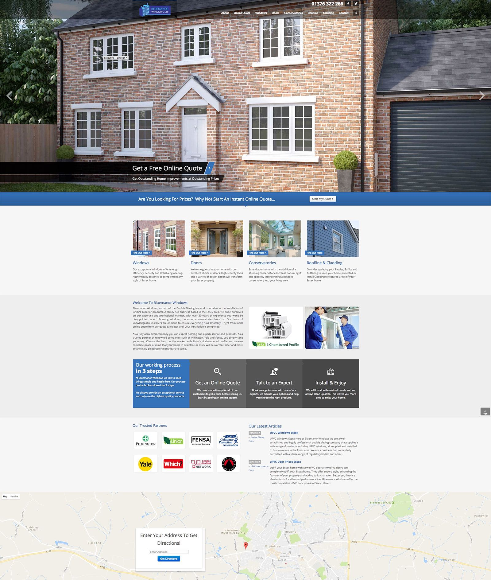 bluemanor windows website