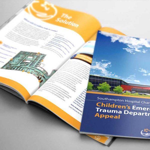 Southampton Hospital Charity Brochure