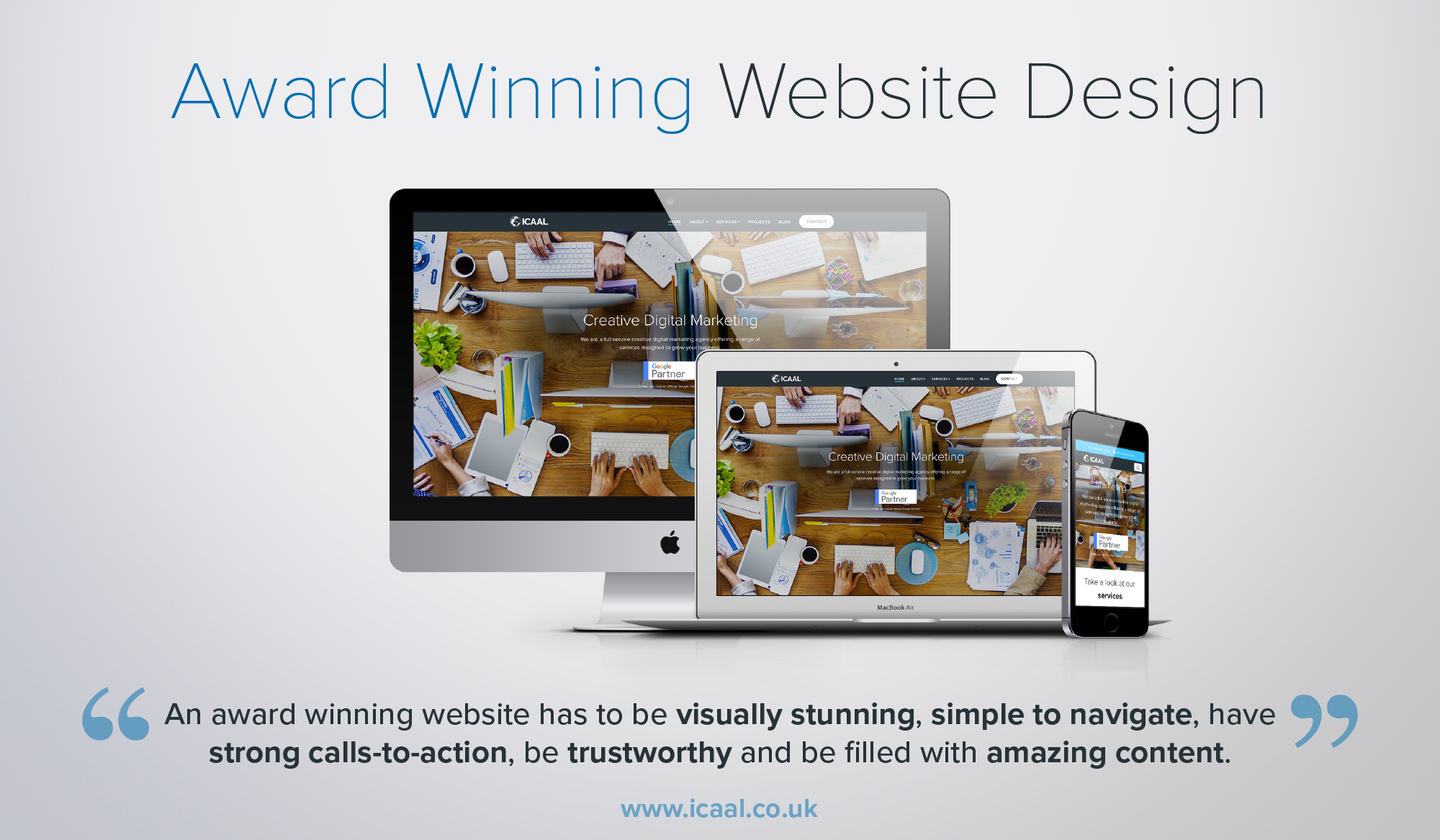 Award Winning Website Design