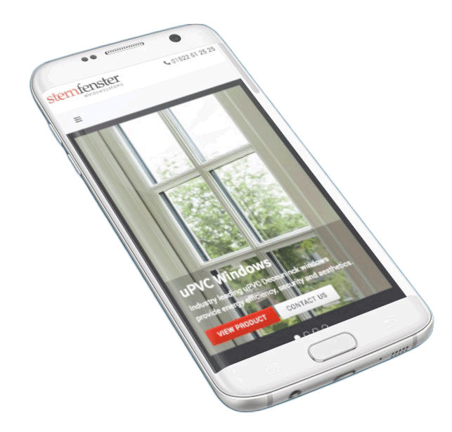 sternfenster mobile site