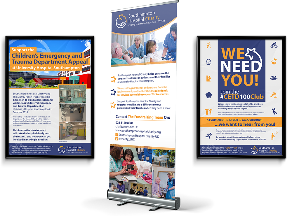 southampton hospital charity mockup