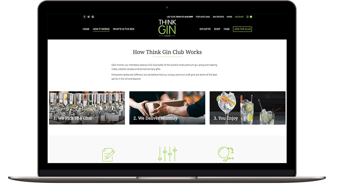 think gin club screen