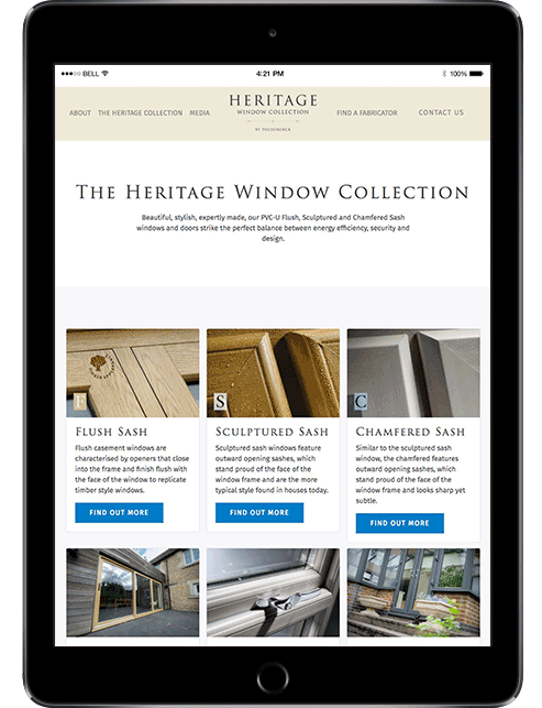 deceuninck heritage windows screen
