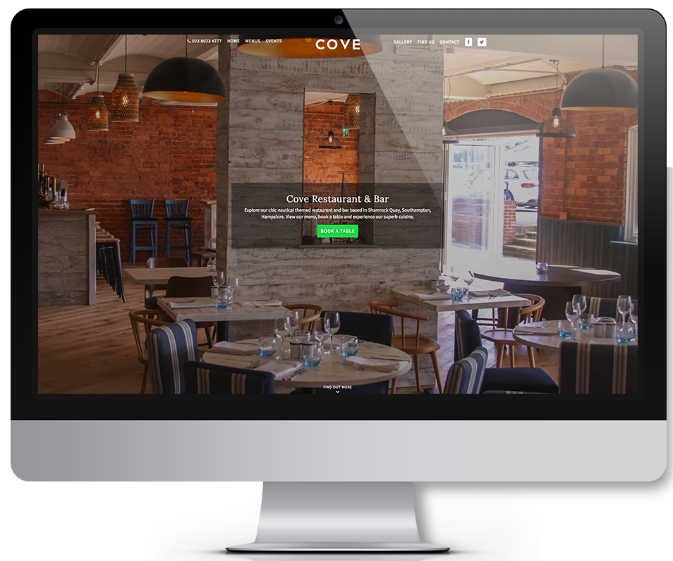 visit cove restaurant screen