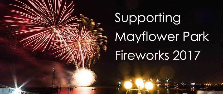 Mayflower Park Fireworks 2017