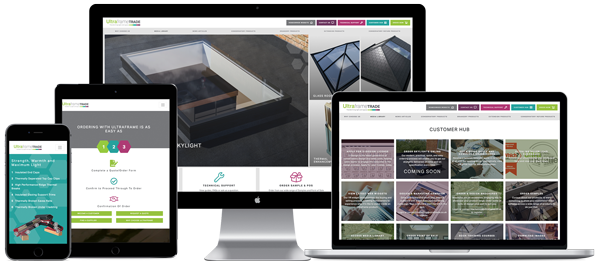 Ultraframe Trade Website Designer