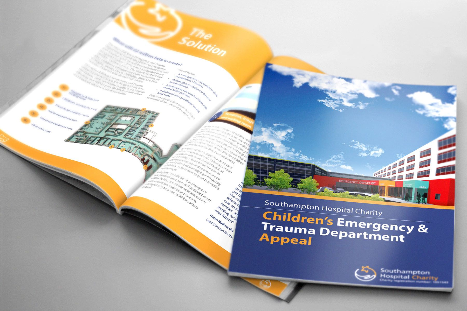 Laying the Foundations – An update on the build of the Children's Emergency and Trauma Department