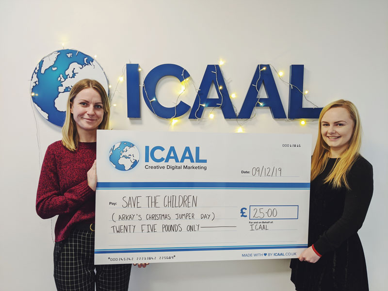 ICAAL and Arkay Unite In Knitwear For Save The Children