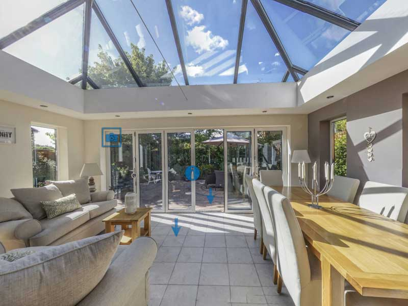 Conservatory Installation Virtual Reality Tour