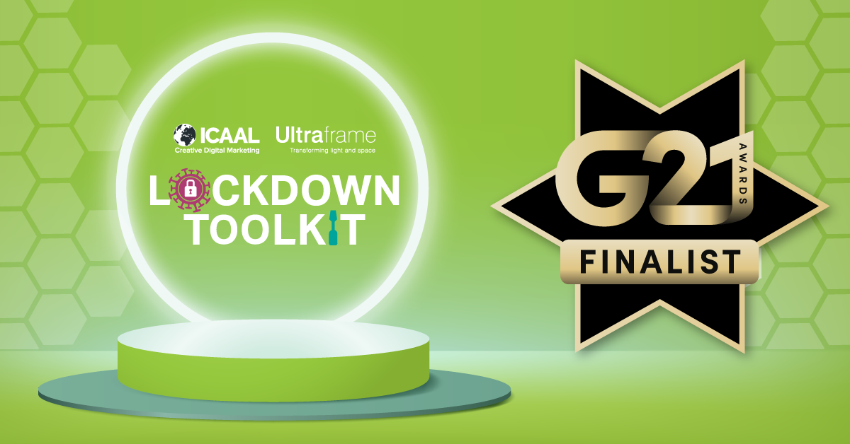 We're G21 Finalists!